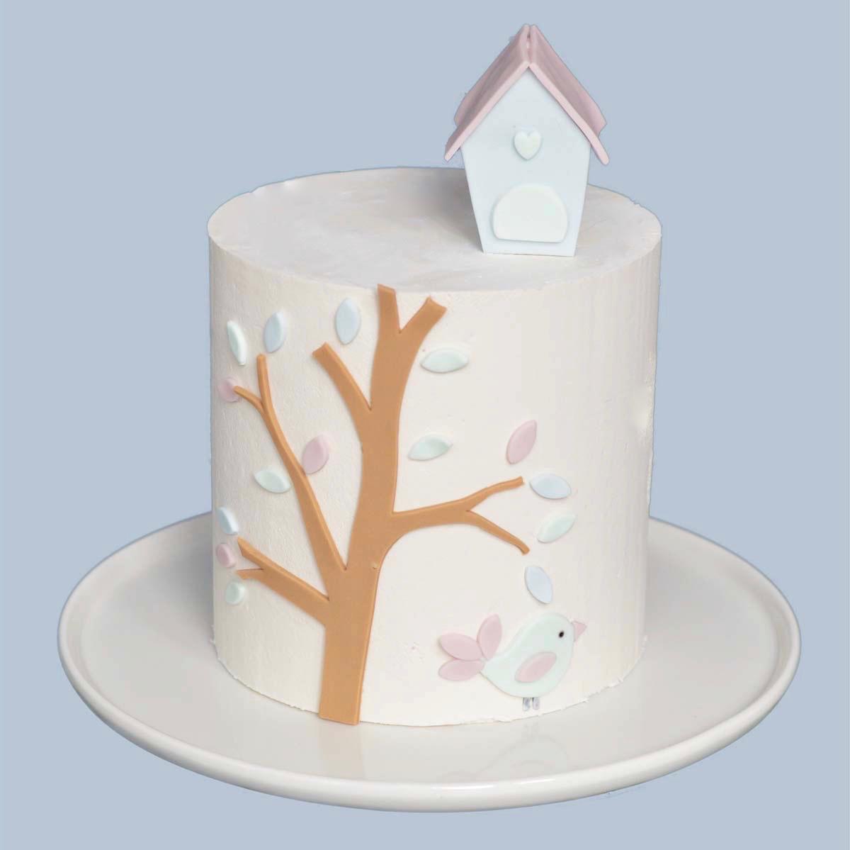 Remarkable Bird House Birthday Cake Caroline Goulding Cake Design Download Free Architecture Designs Scobabritishbridgeorg
