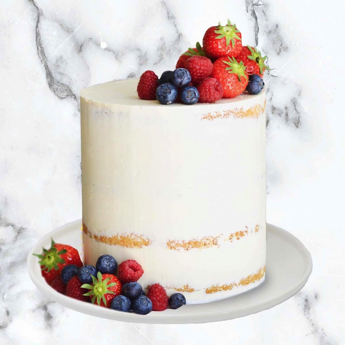 Semi Naked Birthday Cake Dublin